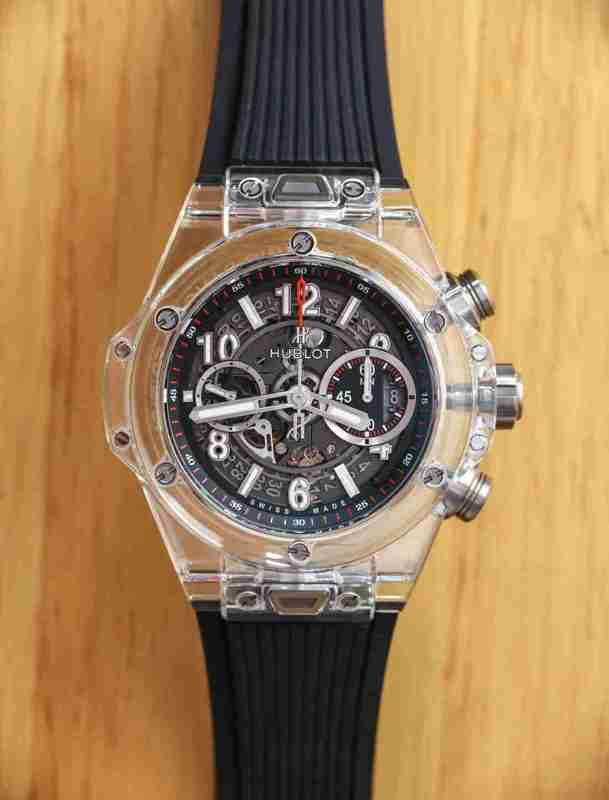 Best Replica Hublot Big Bang UNICO Magic Sapphire Automatic Chronograph 45.5mm Watches Review For 2018