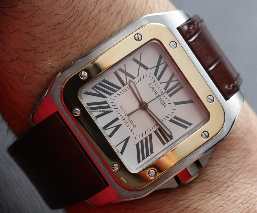 Luxury Brands Replica Cartier SANTOS 100 W20072X7 Watches From http://www.watchescloud.co/!