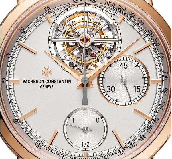 Replica Vacheron Constantin Traditionnelle Tourbillon Chronograph Pink Gold 42.5mm Watches Review