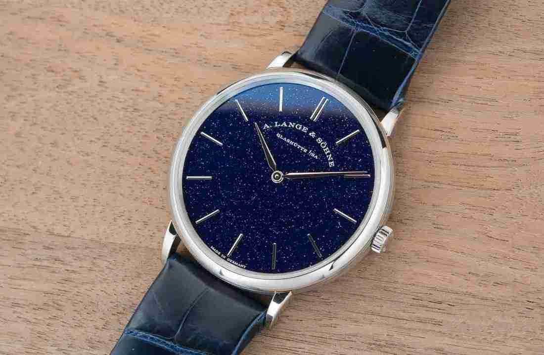 Summer Watches Review: Classic Replica A. Lange & Söhne Saxonia Thin Copper Blue Dial White Gold 39mm Watch