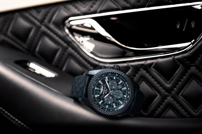 Top Breitling Bentley GT Dark Sapphire Edition Replica Watch For Sale